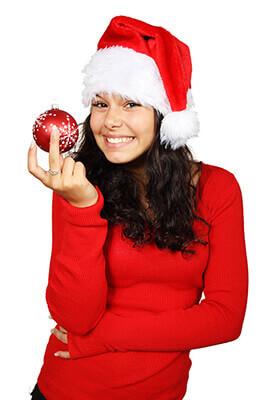 Nageldesign zu Weihnachten
