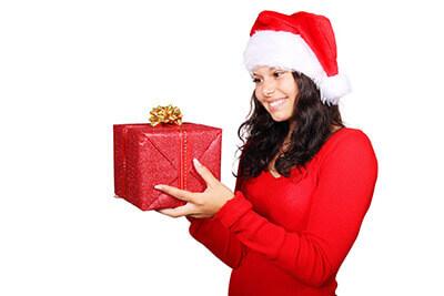 Weihnachtsgeschenk für Freundin