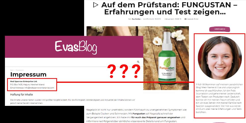 Evas Blog seriös